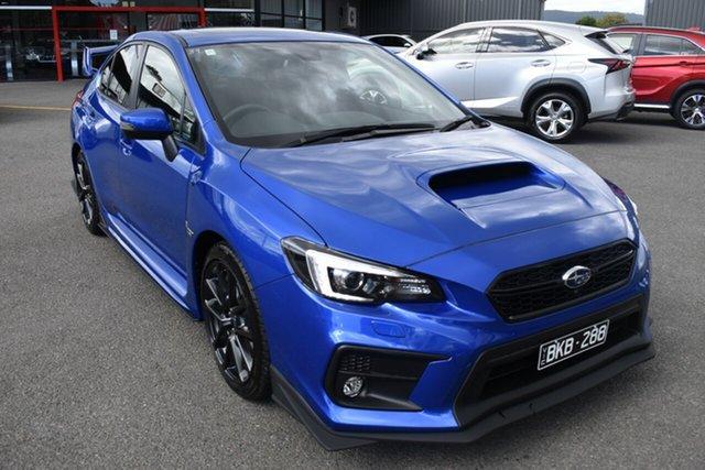 Used Subaru WRX V1 MY21 Premium Lineartronic AWD Wantirna South, 2020 Subaru WRX V1 MY21 Premium Lineartronic AWD Blue 8 Speed Constant Variable Sedan