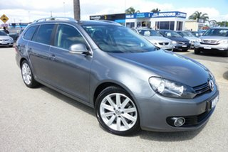 2012 Volkswagen Golf VI MY13 118TSI DSG Comfortline Grey 7 Speed Sports Automatic Dual Clutch Wagon.