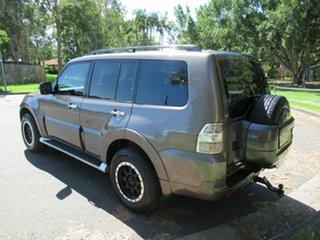 2012 Mitsubishi Pajero NW MY12 Platinum Brown 5 Speed Sports Automatic Wagon.