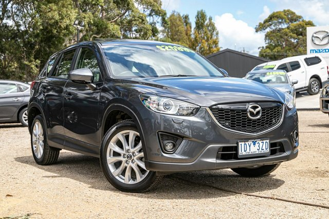 Used Mazda CX-5 KE1031 MY14 Akera SKYACTIV-Drive AWD Mornington, 2014 Mazda CX-5 KE1031 MY14 Akera SKYACTIV-Drive AWD 42a 6 Speed Sports Automatic Wagon
