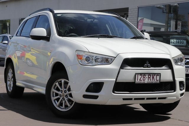 Used Mitsubishi ASX XA MY11 2WD Windsor, 2010 Mitsubishi ASX XA MY11 2WD White 6 Speed Constant Variable Wagon