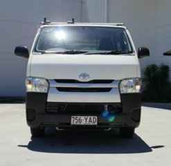 2018 Toyota HiAce KDH201R LWB White 5 Speed Manual Van.