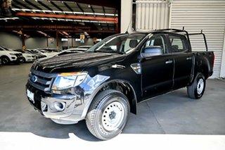 2015 Ford Ranger PX XL Hi-Rider Black 6 Speed Sports Automatic Utility