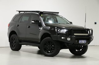 2018 Ford Everest UA II MY19 Trend (4WD 7 Seat) Black 6 Speed Automatic SUV.