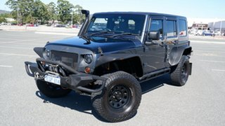2008 Jeep Wrangler JK Unlimited Sport Blue 4 Speed Automatic Softtop.