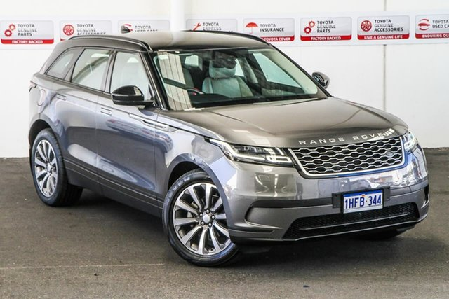Pre-Owned Land Rover Range Rover Velar MY18 D240 S AWD Myaree, 2017 Land Rover Range Rover Velar MY18 D240 S AWD Grey 8 Speed Automatic Wagon