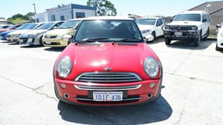 2006 Mini Hatch R50 MY05 Cooper Red 6 Speed Constant Variable Hatchback.