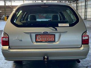 2008 Ford Falcon BF Mk III XT Silver 4 Speed Sports Automatic Wagon