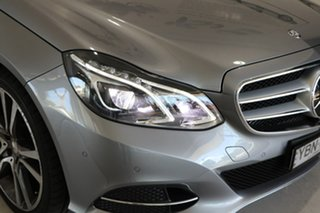 2014 Mercedes-Benz E-Class W212 MY14 E400 7G-Tronic + Silver 7 Speed Sports Automatic Sedan