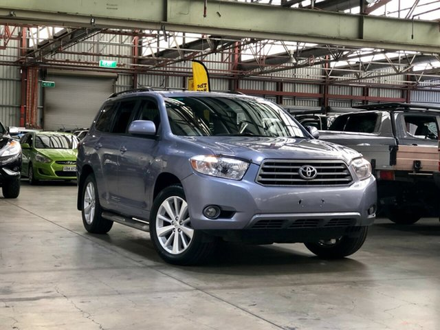 Used Toyota Kluger GSU40R Altitude 2WD Mile End South, 2009 Toyota Kluger GSU40R Altitude 2WD Grey 5 Speed Sports Automatic Wagon