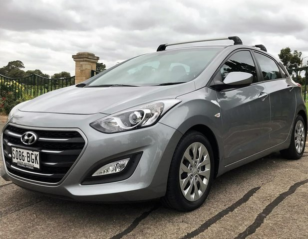 Used Hyundai i30 GD3 Series II MY16 Active Enfield, 2015 Hyundai i30 GD3 Series II MY16 Active Grey 6 Speed Sports Automatic Hatchback