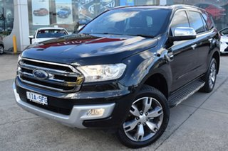 2016 Ford Everest UA Titanium Black 6 Speed Sports Automatic SUV.