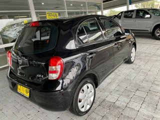 2011 Nissan Micra K13 ST-L Black 4 Speed Automatic Hatchback