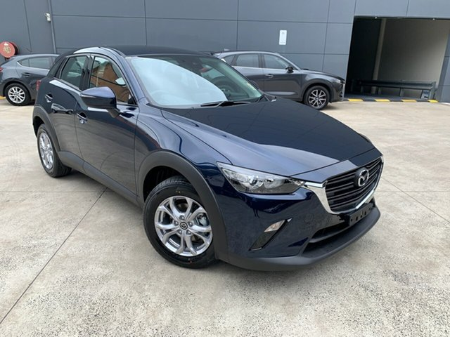 New Mazda CX-3 DK2W76 Maxx SKYACTIV-MT FWD Sport Alexandria, 2021 Mazda CX-3 DK2W76 Maxx SKYACTIV-MT FWD Sport Deep Crystal Blue 6 Speed Manual Wagon