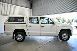 2016 Volkswagen Amarok 2H MY16 TDI420 4x2 White 8 Speed Automatic Cab Chassis