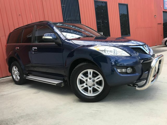 Used Great Wall X200 K2 MY13 Molendinar, 2013 Great Wall X200 K2 MY13 Blue 6 Speed Manual Wagon