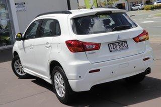 2010 Mitsubishi ASX XA MY11 2WD White 6 Speed Constant Variable Wagon.