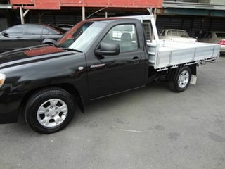 2009 Mazda BT-50 08 Upgrade B2500 DX Black 5 Speed Manual Cab Chassis.
