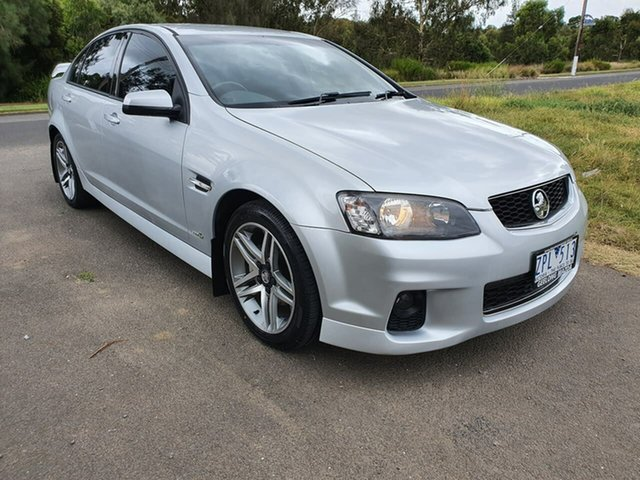 Used Holden Commodore SV6 Geelong, 2013 Holden Commodore VE Series II SV6 Silver Sports Automatic Sedan