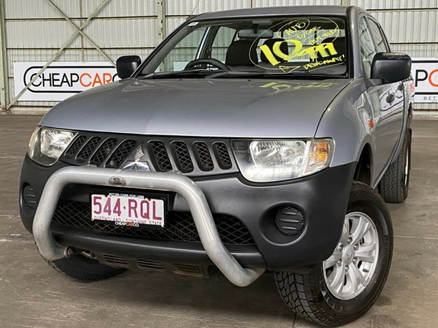 Used Mitsubishi Triton ML MY07 GLX Double Cab 4x2 Rocklea, 2007 Mitsubishi Triton ML MY07 GLX Double Cab 4x2 Silver 4 Speed Automatic Utility