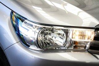 2017 Toyota Hilux GUN126R SR (4x4) Silver Sky 6 Speed Automatic Dual Cab Utility