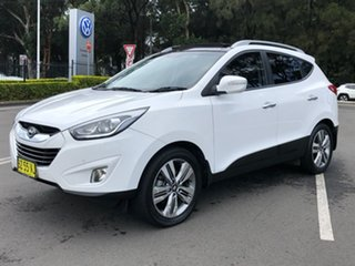 2014 Hyundai ix35 LM3 MY14 Highlander AWD White 6 Speed Sports Automatic Wagon