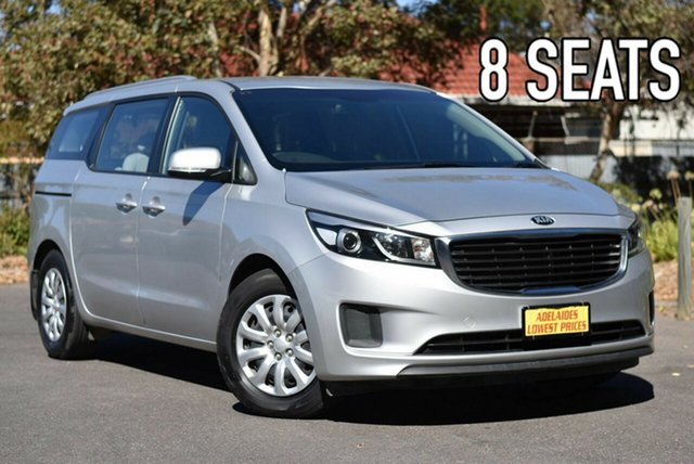 Used Kia Carnival YP MY18 S Melrose Park, 2017 Kia Carnival YP MY18 S Silver 6 Speed Sports Automatic Wagon