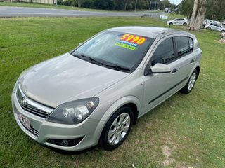 2008 Holden Astra AH MY08 CD Silver 4 Speed Automatic Hatchback.