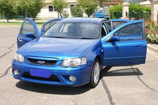 2007 Ford Falcon BF MkII 07 Upgrade XR6 Blue 4 Speed Auto Seq Sportshift Sedan