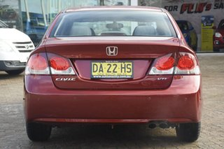 2010 Honda Civic MY10 VTi LE Burgundy 5 Speed Automatic Sedan
