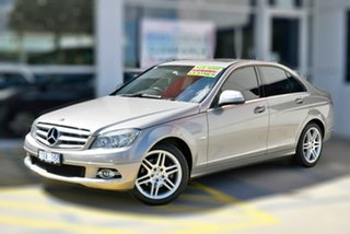 2007 Mercedes-Benz C-Class W204 C220 CDI Avantgarde Beige 5 Speed Automatic Sedan.