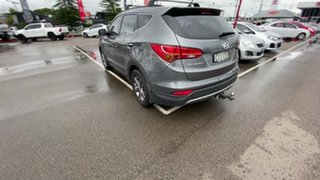 2012 Hyundai Santa Fe DM MY13 Active Grey 6 Speed Sports Automatic Wagon.