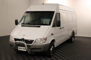 2006 Mercedes-Benz Sprinter MY05 413CDI High Roof LWB White 5 speed Manual Van.