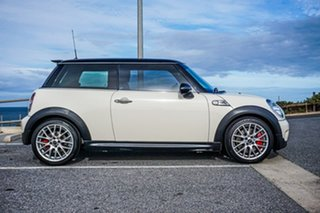 2009 Mini Hatch R56 John Cooper Works White 6 Speed Manual Hatchback.