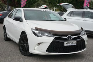2016 Toyota Camry ASV50R RZ White 6 Speed Sports Automatic Sedan.