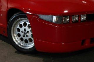 1990 Alfa Romeo SZ Red 5 Speed Manual Coupe.