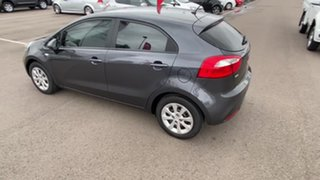 2013 Kia Rio UB MY14 S Grey 6 Speed Manual Hatchback