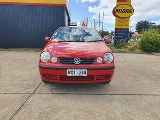 2002 Volkswagen Golf 4th Gen GL Red 4 Speed Automatic Cabriolet.