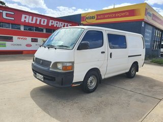 2000 Toyota HiAce LH172R LWB White 5 Speed Manual Van.
