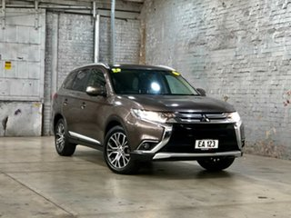 2015 Mitsubishi Outlander ZK MY16 XLS 2WD Bronze 6 Speed Constant Variable Wagon.