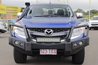 2013 Mazda BT-50 UP0YF1 XTR Blue 6 Speed Sports Automatic Utility.