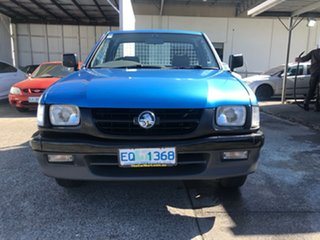 2002 Holden Rodeo TF MY02 LX 4x2 Cape Blue Metallic/ 5 Speed Manual Utility