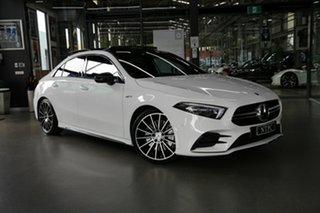 2020 Mercedes-Benz A-Class A35 AMG SPEEDSHIFT DCT 4MATIC White 7 Speed Sports Automatic Dual Clutch.