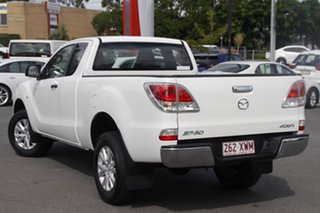 2018 Mazda BT-50 UR0YG1 XT Freestyle White 6 Speed Sports Automatic Cab Chassis.