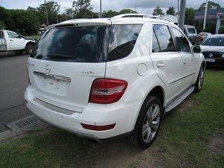 2009 Mercedes-Benz ML320 CDI 164 White 6 Speed Automatic Wagon