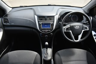 2013 Hyundai Accent RB Active Black 4 Speed Sports Automatic Sedan