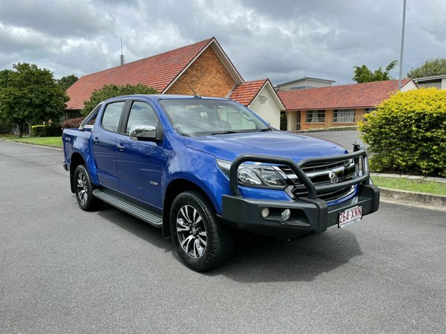 Used Holden Colorado RG MY18 LTZ Chermside, 2017 Holden Colorado RG MY18 LTZ Blue 6 Speed Automatic Dual Cab