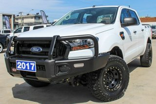 2017 Ford Ranger PX MkII XL White 6 Speed Manual Utility.