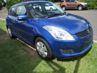 2015 Suzuki Swift Blue 4 Speed Automatic Hatchback