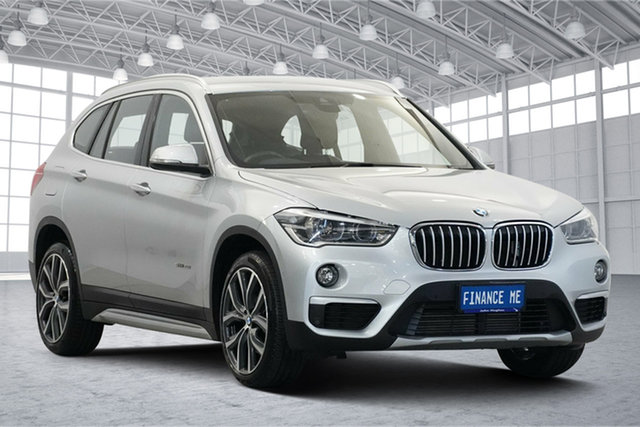 Used BMW X1 F48 sDrive20i Steptronic Victoria Park, 2016 BMW X1 F48 sDrive20i Steptronic Silver 8 Speed Sports Automatic Wagon